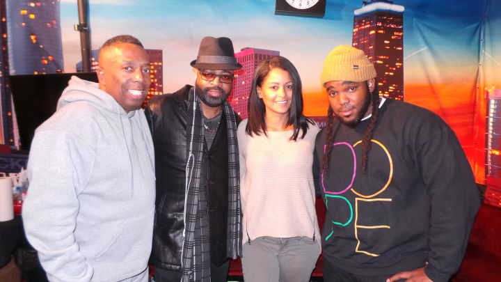 J Moss Visits The Rickey Smiley Morning Show