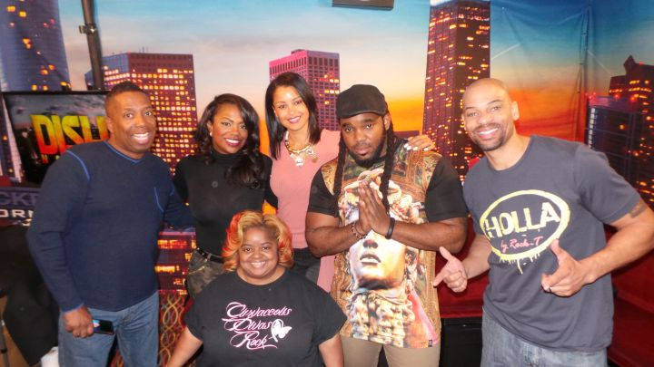 Kandi Burruss Visits The Rickey Smiley Morning Show