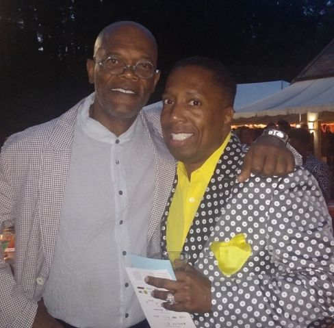 Gary With Da Tea & Samuel L. Jackson