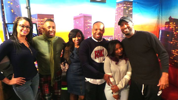 Toya Wright And Reginae Carter Visit The Rickey Smiley Morning Show