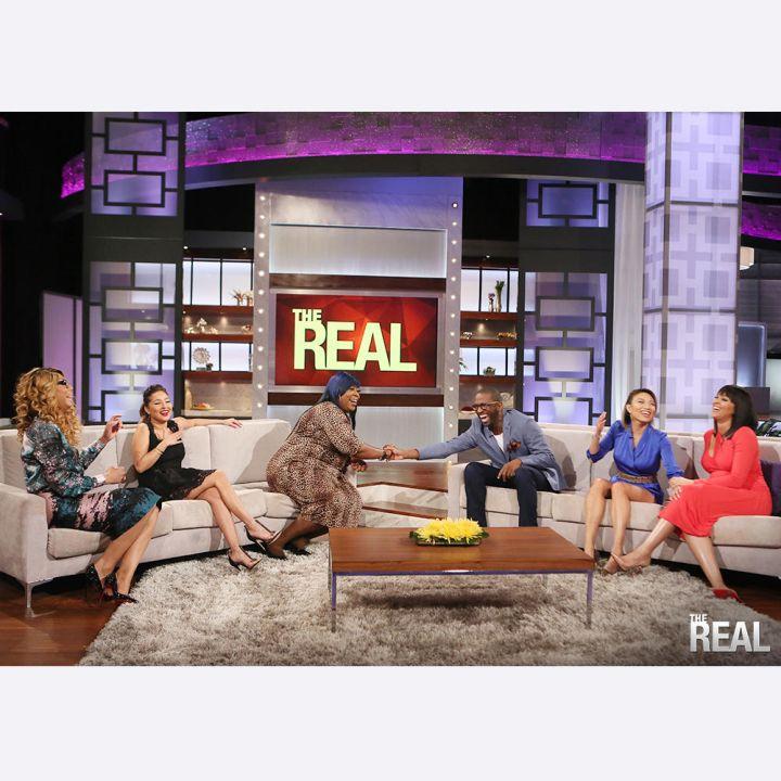 Tamar Braxton, Adrienne Bailon, Loni Love, Rickey Smiley, Jeannie Mai, and Tamera Mowry