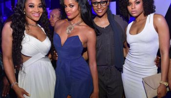Claudia Jordan's Birthday Celebration At Gold Room