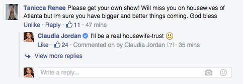 Claudia Jordan Facebook
