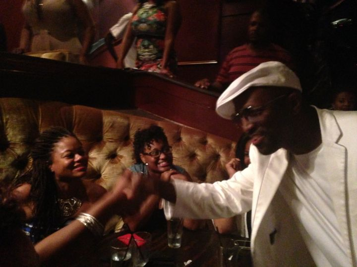 Rickey Smiley Joins T.I. & Tiny For Their Restaurant Opening!