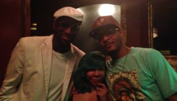 Rickey Smiley Joins T.I. & Tiny For Their Scales Restaurant Opening