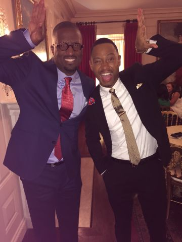 Rickey Smiley Visits The White House