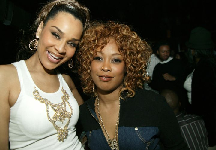 Lisa Raye and Da Brat