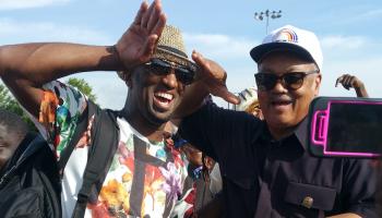 Rickey Smiley & Da Brat At Chicago's Bud Billiken Parade 2015