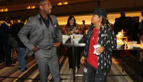 Rickey Smiley's Colleagues Support Him At The Marconis