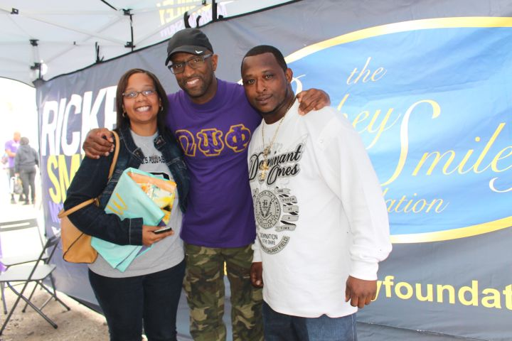 Rickey Smiley Meets Listeners During Magic City Classic Weekend!