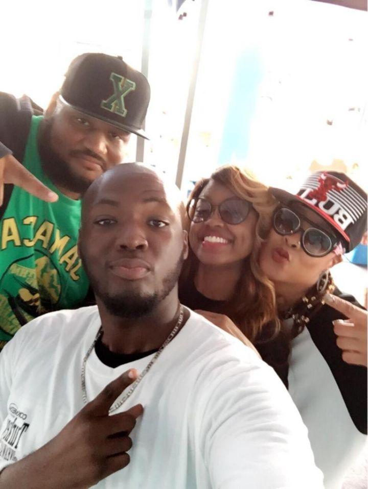 Da Brat With WEDR (99 Jamz)/Miami Team
