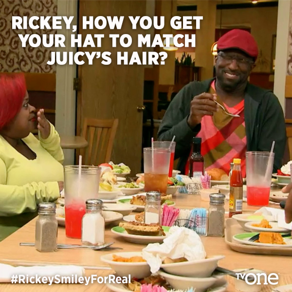 "Juicy On ""Rickey Smiley For Real"" With Rickey Smiley"