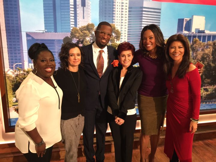 Sheryl Underwood, Sara Gilbert, Rickey Smiley, Sharon Osbourne, Aisha Tyler & Julie Chen
