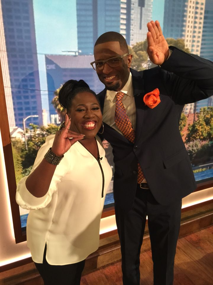 Sheryl Underwood & Rickey Smiley