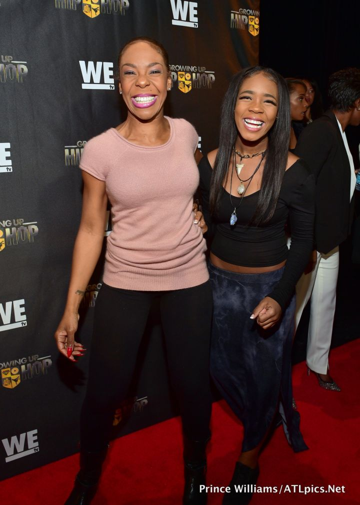 Drea Kelly and daughter Arii Raye