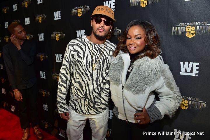 Romeo Miller and Phaedra Parks