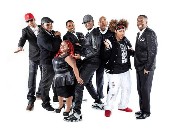 The Cast Of The Rickey Smiley Morning Show