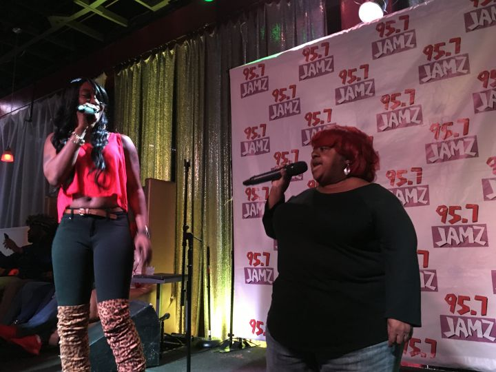 Karaoke With The Rickey Smiley Morning Show In Birmingham!