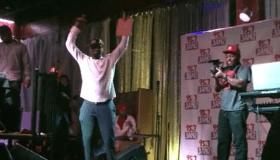Rickey Smiley dancing