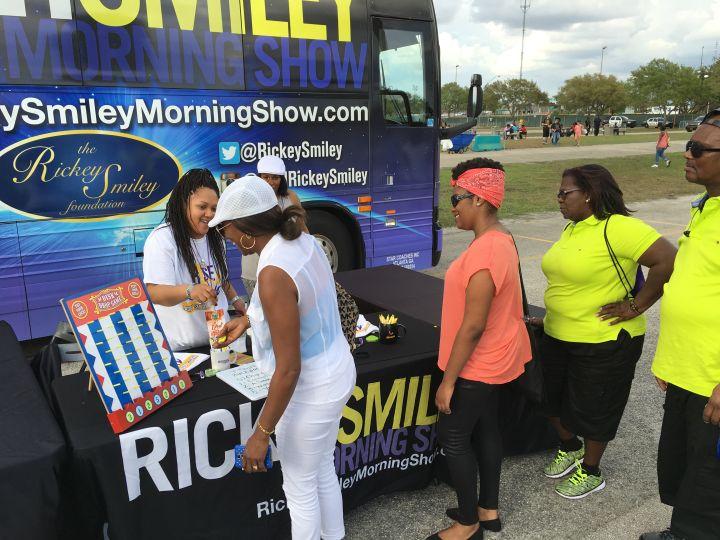 Rickey Smiley Morning Show Listeners & Marketing Director Marsha
