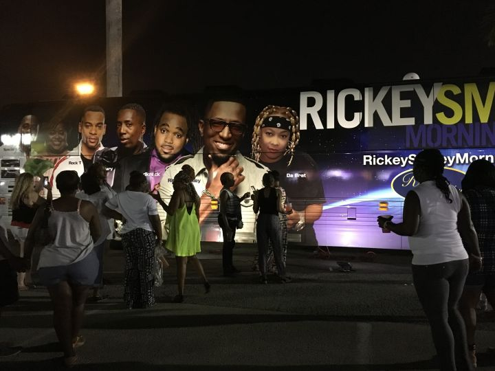Rickey Smiley Morning Show Bus & Listeners