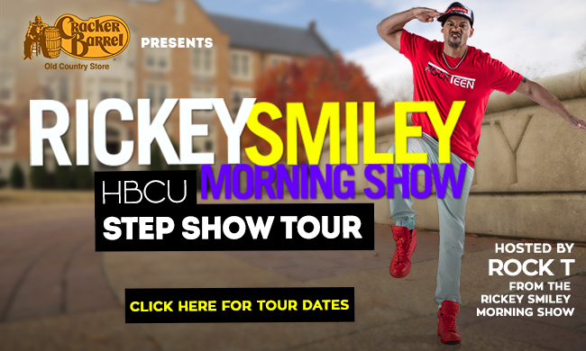 The Ricky Smiley Morning Show HBCU Step Show Tour