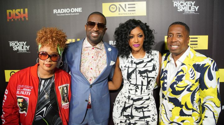 Da Brat, Rickey Smiley, Porsha Williams & Gary With Da Tea