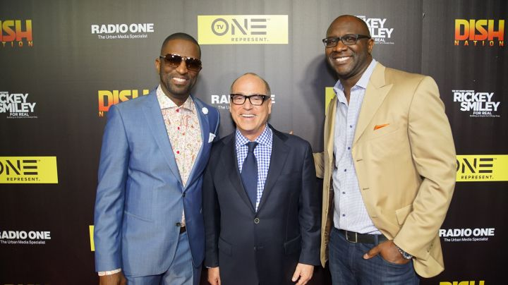 Rickey Smiley, Brad Siegel & Roger Bobb
