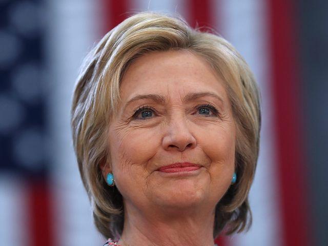 Hillary Clinton Campaigns In Salinas, California