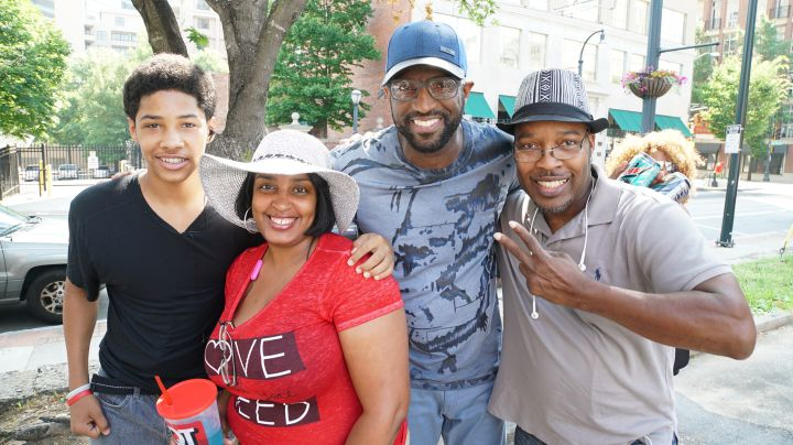 Rickey Smiley With Listeners