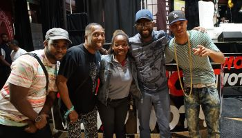 "Rickey Smiley, Headkrack, Gary With Da Tea & JahLion Sound Meet Listeners Of ""The Rickey Smiley Morning Show"" In Atlanta"