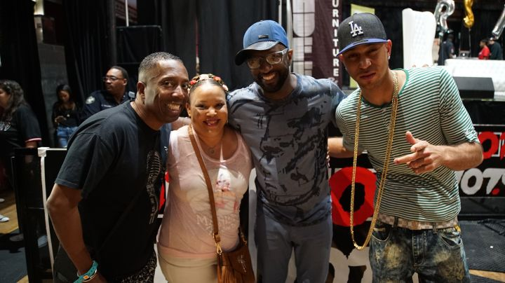 Gary With Da Tea, Rickey Smiley & JahLion Sound With Listener