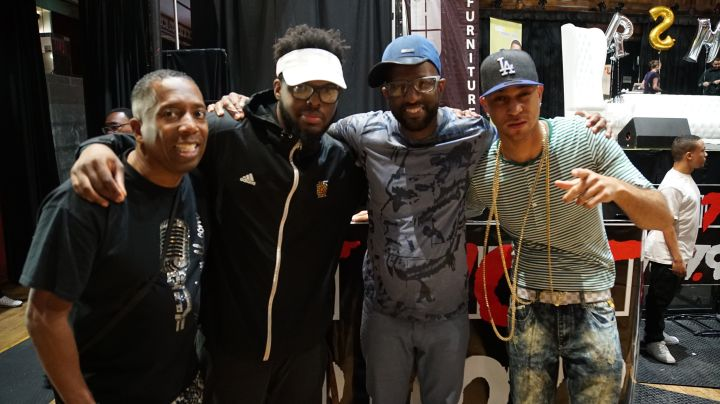 "Rickey Smiley, Headkrack, Gary With Da Tea & JahLion Sound Meet Listeners Of ""The Rickey Smiley Morning Show"" In Atlanta"