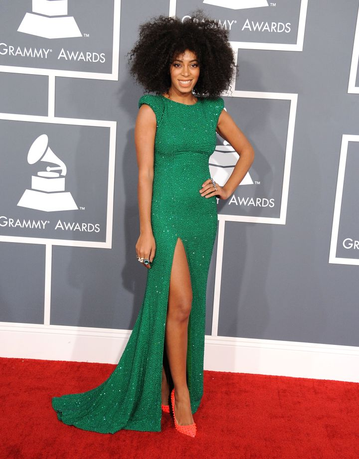 Solange Knowles at The 55th Annual GRAMMY Awards