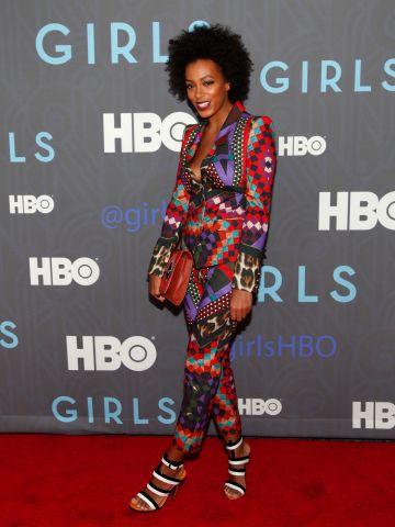 HBO Hosts The Premiere Of 'Girls' Season 2 - Inside Arrivals