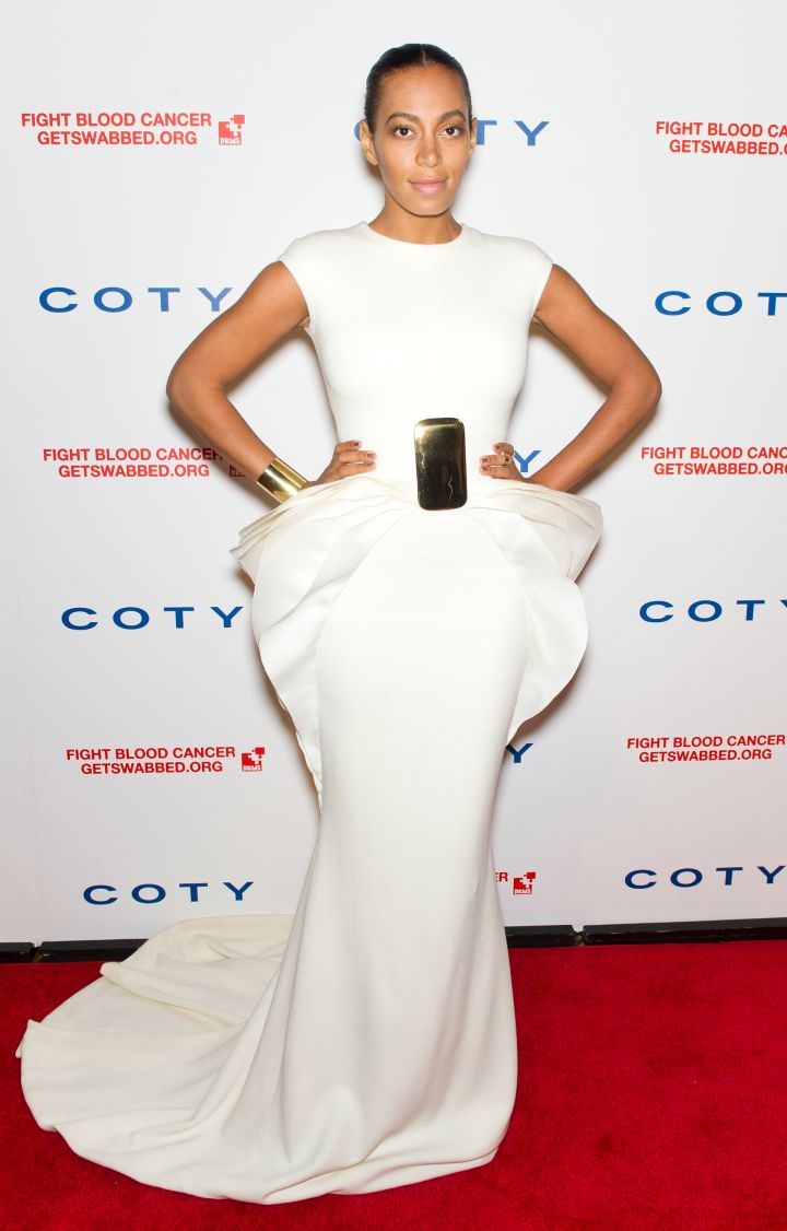 Solange Knowles attends 6th Annual DKMS Linked Against Blood Cancer Gala