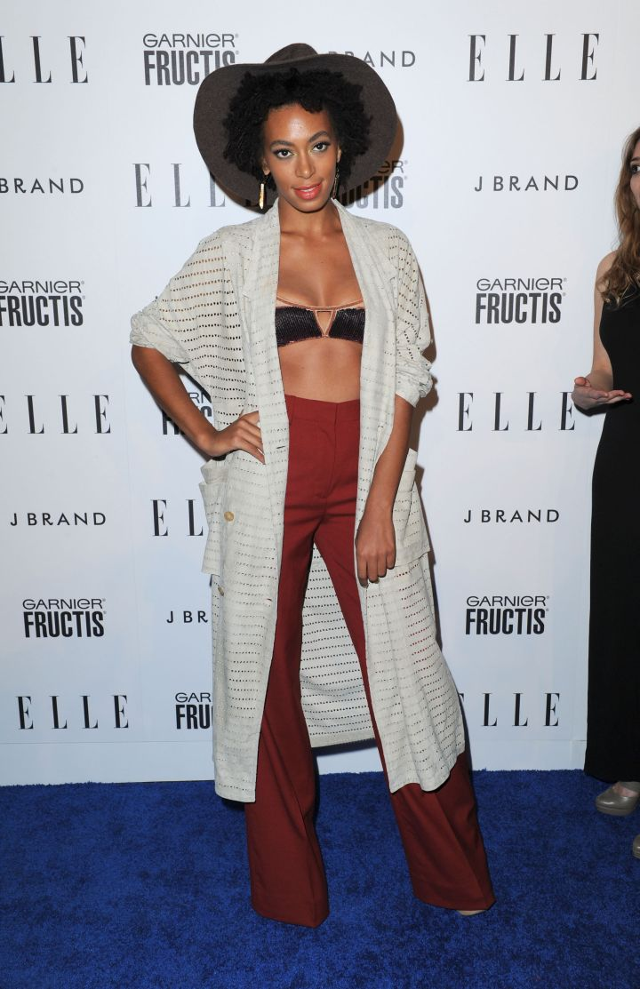 Solange Knowles attends ELLE's Second Annual Women In Music Event