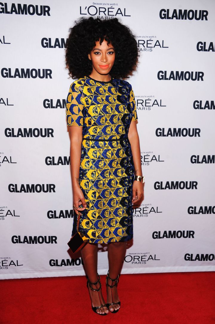 Solange Knowles attends the 2012 GLAMOUR Women Of The Year Awards