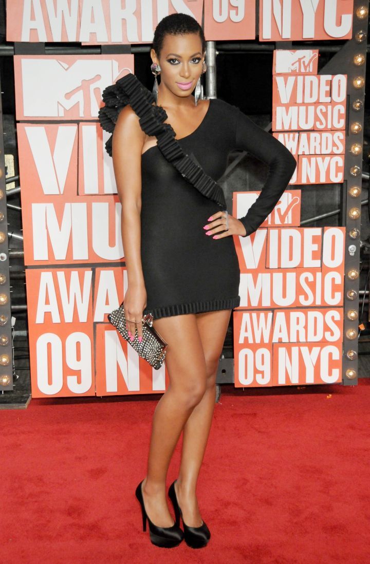 Solange Knowles attends 2009 MTV Video Music Awards – Red Carpet