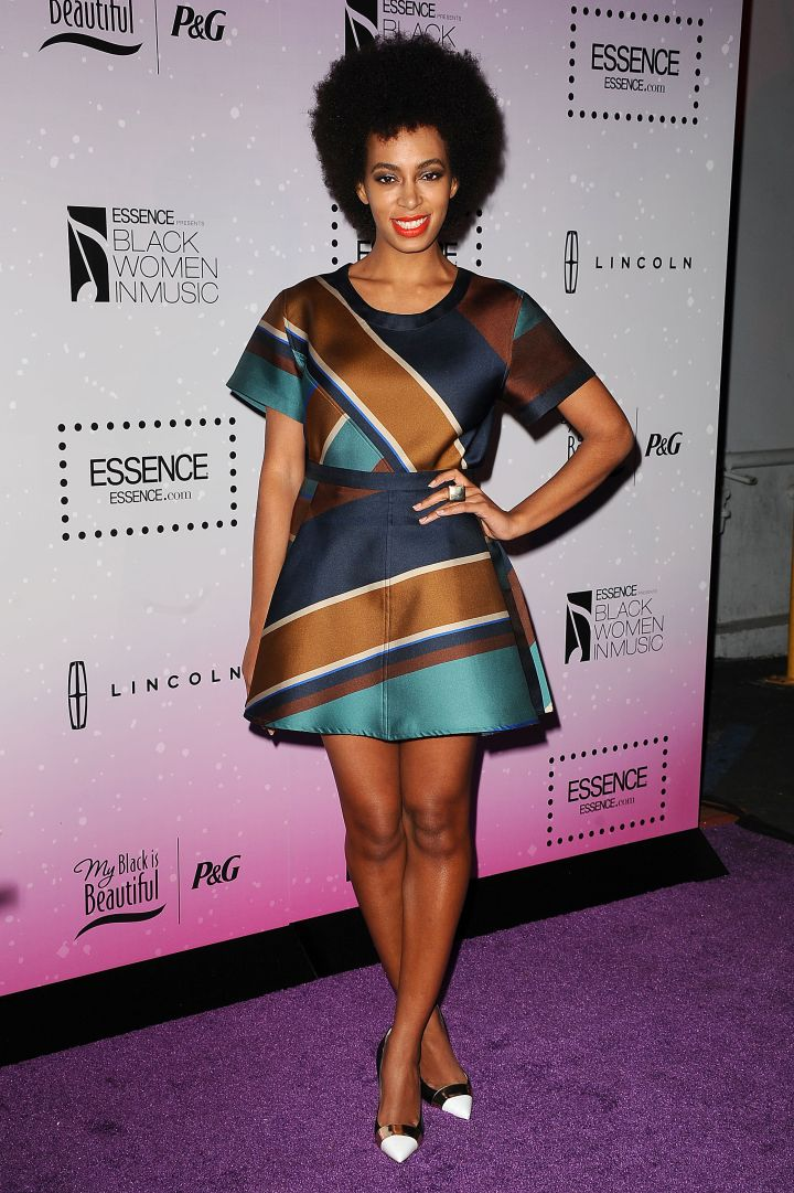 Solange Knowles attends the 4th Annual ESSENCE Black Women In Music