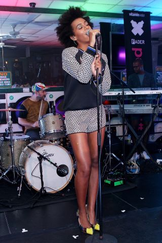 vitaminwater And The FADER Present uncapped With Solange Knowles