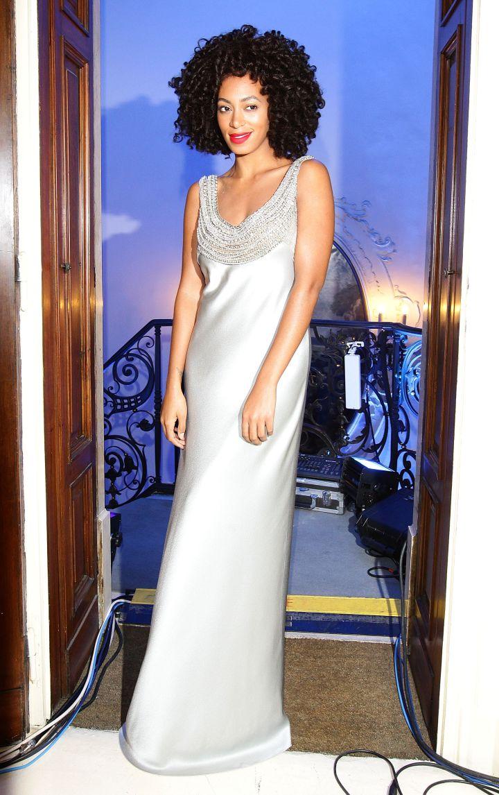 Solange Knowles attends the Alberta Ferretti Special Event