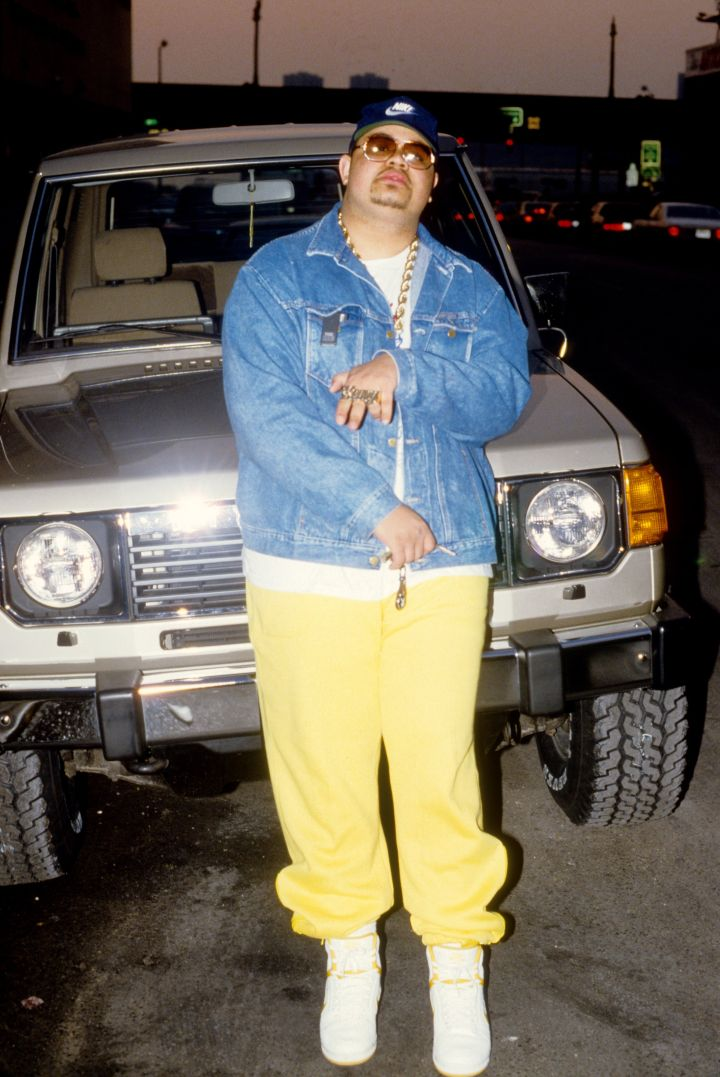 7. Heavy D has 7 albums: Living Large, Big Tyme, Peaceful Journey, Blue Funk, Nuttin' But Love, Waterbed Hev, and Heavy.