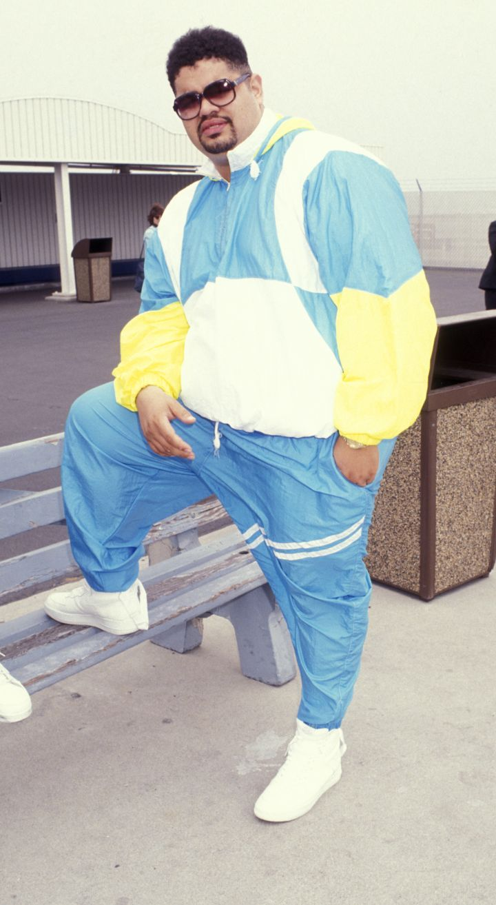 9. Heavy D was born in Jamaica in 1967 to a nurse and a machine technician.