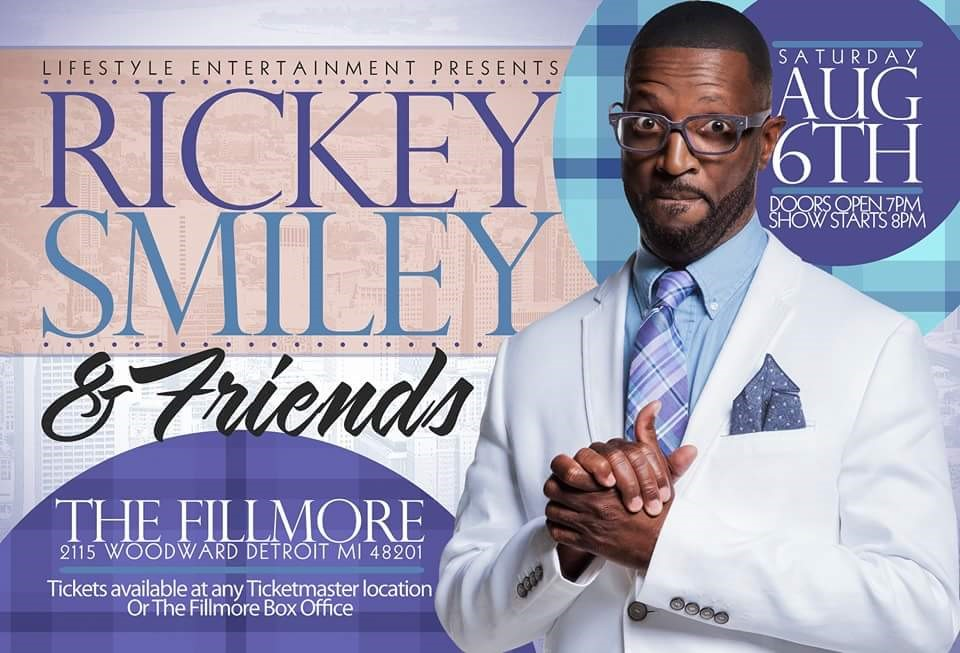 Rickey Smiley The Fillmore Detroit