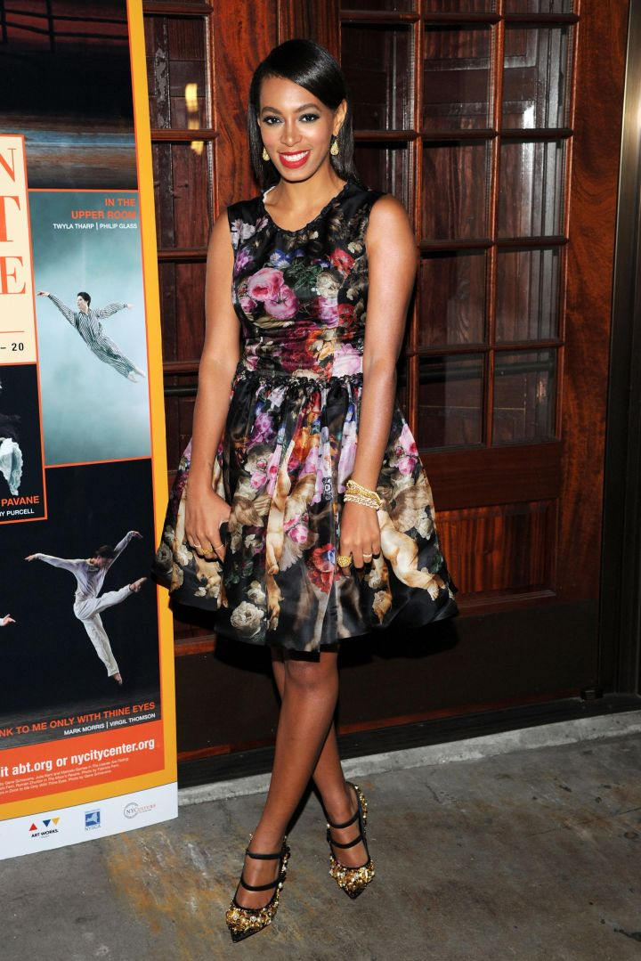 Solange Knowles attends American Ballet Theatre Opening Night Fall New York City Center Gala