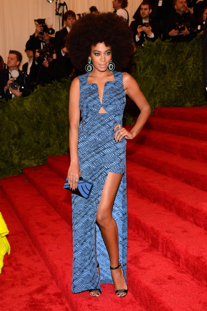 """Solange attends the Costume Institute Gala for the """"PUNK: Chaos to Couture"""" exhibition"""