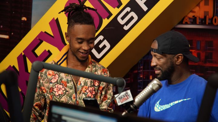 Rickey Smiley & Jimmy Of Rae Sremmurd