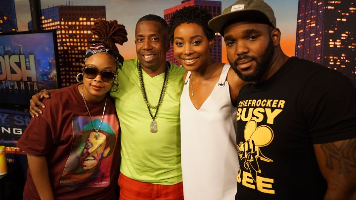 Erica Ash On The Rickey Smiley Morning Show