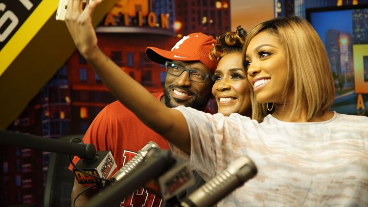 Rickey Smiley, Porsha Williams & Mama Dee